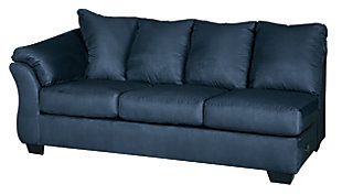 Darcy 2-Piece Sectional with Chaise, Blue, large