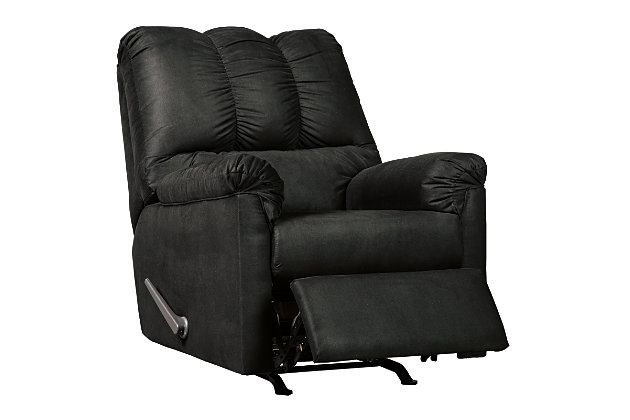 Darcy Recliner, Black, large