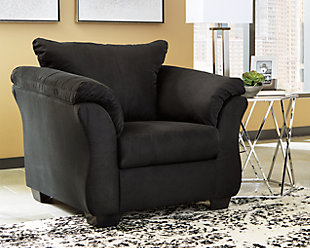 Darcy Chair, Black, large