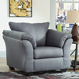 Darcy Chair, Steel, large