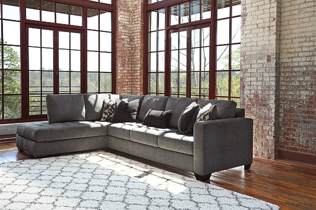 width by ashley height item piece products s sectional smoke right chaise threshold with contemporary furniture gray olinde loric smokecontemporary at trim