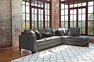 Large Owensbe 2 Piece Sectional Rollover