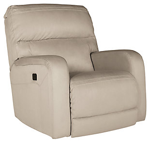 Azzedella Power Recliner, Latte, large