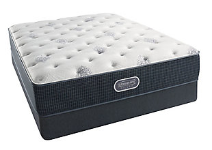 Beautyrest Silver Breakwater Plush Queen Mattress, White/Gray, large