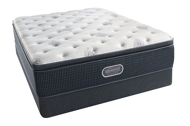 Beautyrest Silver Sea Breeze Luxury Firm Pillow Top Queen...