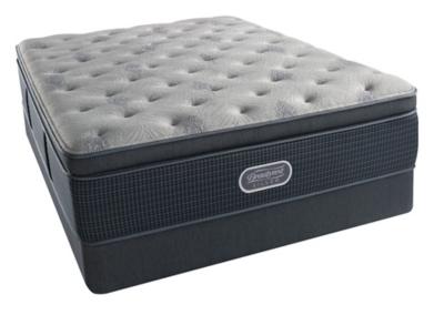 Ashley Silver Oceanside Plush Pillow Top Queen Mattress Beautyrest