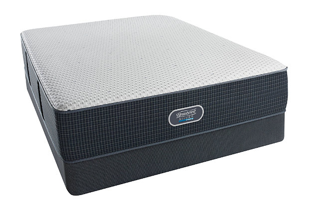 Beautyrest Silver Hybrid Starry Nights Ultimate Plush Queen Mattress, White/Gray, large
