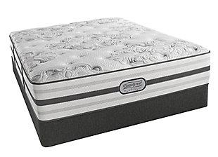 Beautyrest Platinum Lynden Plush Queen Mattress, White/Gray, large