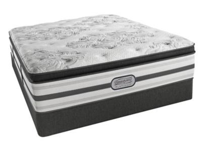 Ashley Hampden Luxury Firm Pillow Top Twin Mattress Beautyrest