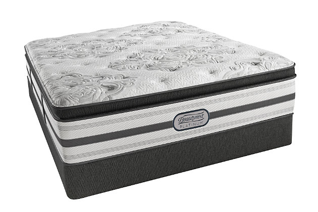 Beautyrest Platinum Hampden Luxury Firm Pillow Top Queen ...