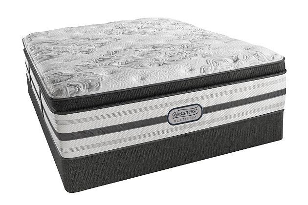 Beautyrest Platinum Santa Monica Plush Pillow Top Queen M...