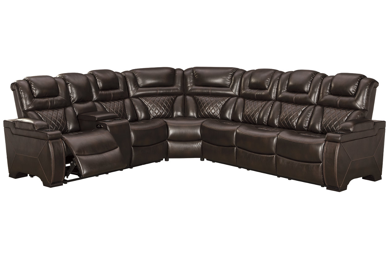 Warnerton 3-Piece Reclining Sectional with Power | Ashley ...