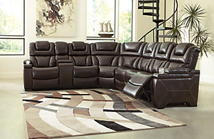 Warnerton 3-Piece Power Reclining Sectional, , rollover