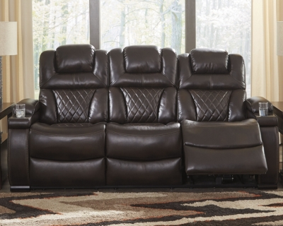 Reclining Sofa Chocolate Power Product Photo 241