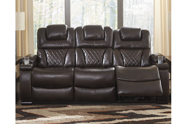 Warnerton Power Reclining Sofa Ashley Furniture Homestore