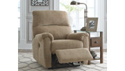 McTeer Power Recliner, Mocha, rollover