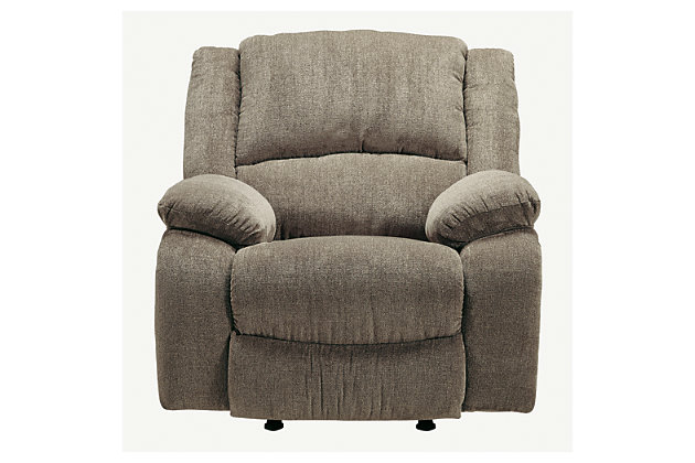 Draycoll Recliner, Pewter, large