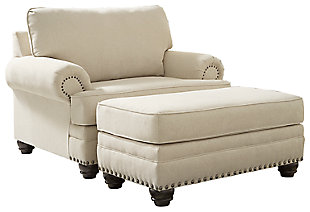 Harrietson Chair and Ottoman, , large