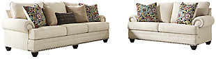Harrietson Sofa and Loveseat, , large