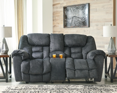 Loveseat Console Granite Reclining Product Photo 671