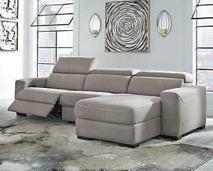 Mabton 3-Piece Power Reclining Sectional, , rollover
