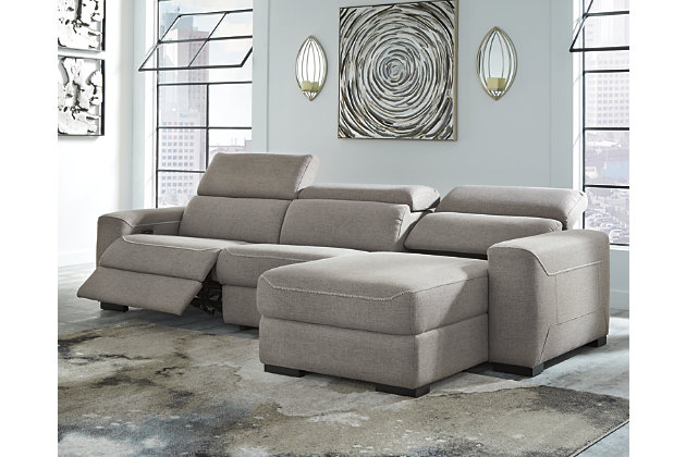Mabton 3-Piece Power Reclining Sectional, , large