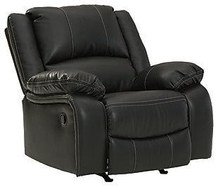 Calderwell Recliner, Black, large