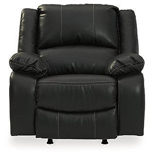 Calderwell Recliner, Black, large