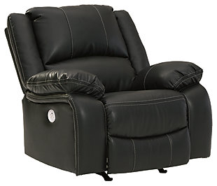 Calderwell Power Recliner, Black, large