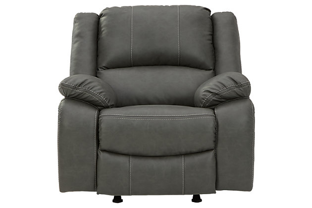 Calderwell Recliner, Gray, large