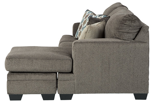 Dorsten Sofa Chaise, Slate, large