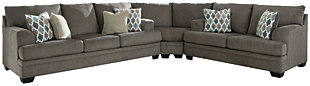 Dorsten 3-Piece Sectional, Slate, large