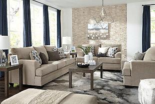 Dorsten Sofa, Sisal, large