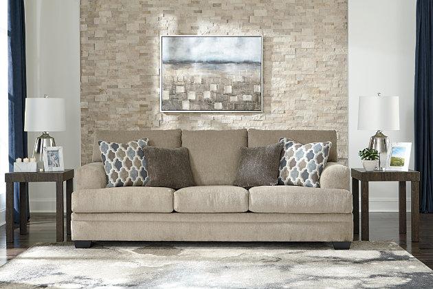 Dorsten Sofa Sleeper, Sisal, large