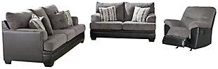 Millingar Sofa, Loveseat and Recliner, , large