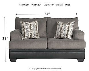 Millingar Loveseat, , large