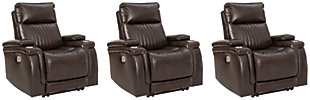 Team Time 3-Piece Home Theater Seating, , large