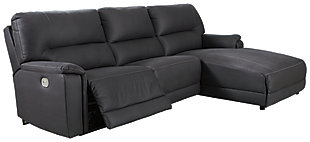 Henefer 3-Piece Power Reclining Sectional with Chaise, , large