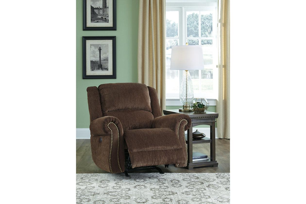 Swell Goodlow Power Recliner Ashley Furniture Homestore Short Links Chair Design For Home Short Linksinfo