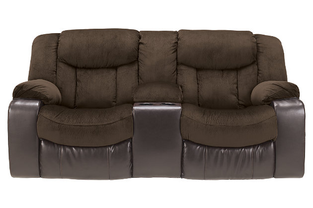 Product shown on a white background  sc 1 st  Ashley Furniture HomeStore & Tafton Reclining Loveseat with Console | Ashley Furniture HomeStore islam-shia.org