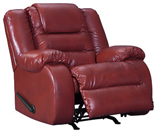 Vacherie Sofa, Loveseat and Recliner, Salsa, large