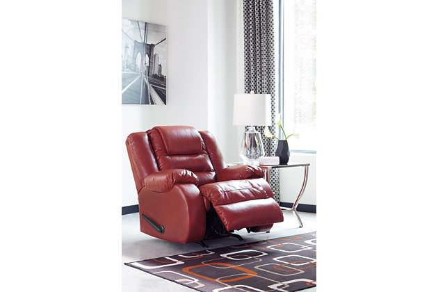 Vacherie Recliner, Salsa, large