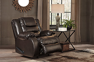 Vacherie Recliner, Chocolate, large