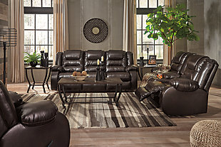 Vacherie Sofa, Loveseat and Recliner, Chocolate, large