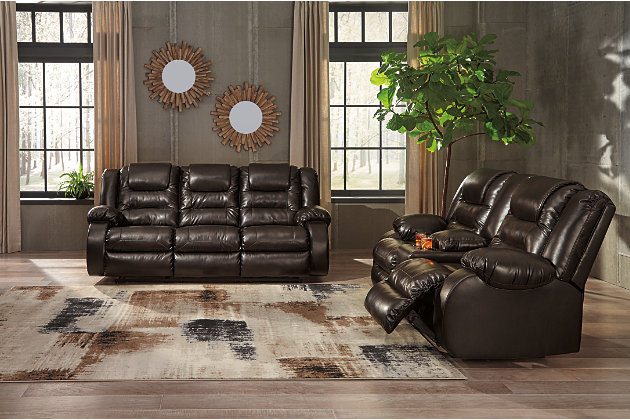 Pleasant Vacherie Reclining Sofa Ashley Furniture Homestore Dailytribune Chair Design For Home Dailytribuneorg