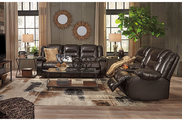 Surprising Vacherie Reclining Sofa Ashley Furniture Homestore Caraccident5 Cool Chair Designs And Ideas Caraccident5Info