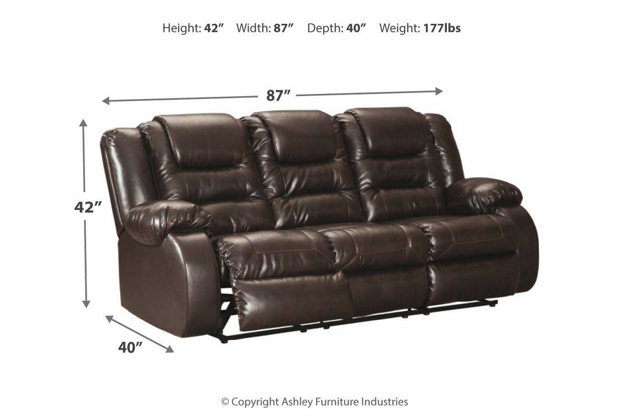 Excellent Vacherie Reclining Sofa Ashley Furniture Homestore Caraccident5 Cool Chair Designs And Ideas Caraccident5Info