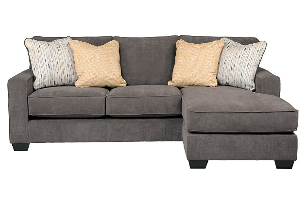 Hodan sofa chaise ashley furniture homestore for Ashley chaise sectional