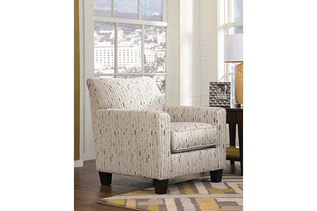 Hodan Chair by Ashley HomeStore, Marble, Polyester/rayon