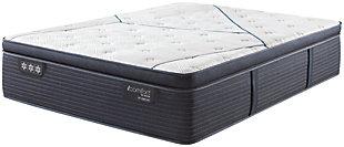 iComfort CF3000 Quilted Hybrid Plush PillowTop King Mattress, White/Blue, large